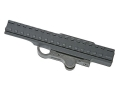 """GG&G Accucam Quick-Detach Extended Picatinny-Style Riser Mount 7"""" AR-15 Flat-Top Matte"""