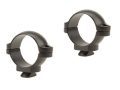"Leupold 1"" Dual-Dovetail Rings Matte Low"