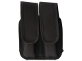 Product detail of Bianchi 4620A Tuxedo Double Magazine Pouch Beretta 92, Glock 17, 19, Para-Ordnance P12, P16 Trilaminate Black