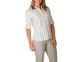 Mountain Khakis Women's Mystic Shirt Long Sleeve Polyester Emerald Plaid