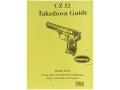 """Radocy Takedown Guide """"CZ 52"""""""