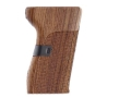 Hogue Fancy Hardwood Grips CZ 52 Checkered Rosewood