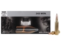 Sellier & Bellot Ammunition 243 Winchester 100 Grain Nosler Partition Box of 20