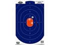 "Birchwood Casey Dirty Bird 12"" x 18"" Blue/Orange Silhouette Target"