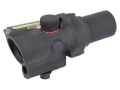 Trijicon ACOG TA44 Compact Rifle Scope 1.5x 16mm 12.1 MOA Dual-Illuminated Red Ring and Dot Reticle with AR-15 Carry Handle Base Matte