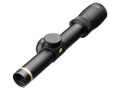Leupold VX-6 Rifle Scope 30mm Tube 2-12x 42mm Custom Dial System (CDS) FireDot Illuminated LR Duplex Reticle Matte