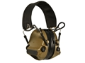 Peltor ComTac III Hearing Defender Electronic Earmuffs (NRR 28) Coyote and Brown