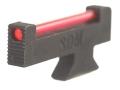 "SDM Super Sight S&W Revolvers Classic, DX .250"" Height .125"" Width .080"" Fiber Optic Red"