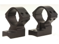Talley Lightweight 2-Piece Scope Mounts with Integral 1&quot; Rings Remington 700 Matte High