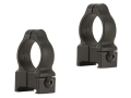 "Durasight Z-2 Alloy 1"" Rings Weaver-Style Matte High"