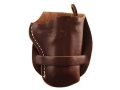 Hunter 1080-1 Derringer Holster Right Hand Leather Antique Brown