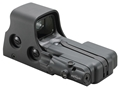EOTech 512 Holographic Weapon Sight 68 MOA Circle with 1 MOA Dot Reticle with Laser Battery Cap Matte AA Battery