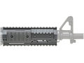 GG&G Tactical Modular Free Float Tube Handguard Quad Rail AR-15 Carbine Length Aluminum Matte