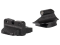 Meprolight Tru-Dot Sight Set Remington 870, 1100, 11-87 with Rifle Sights Steel Blue Tritium Green