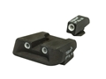 Trijicon Night Sight Set with Novak Rear Glock All Models Except 36 3-Dot Tritium Green