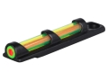 TRUGLO Tru-Bead Front Sight Universal Fits Shotgun with Vent Rib Dual Color Fiber Optic Red/Green