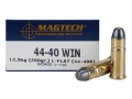 Product detail of Magtech Sport Ammunition 44-40 WCF 200 Grain Lead Flat Nose Box of 50