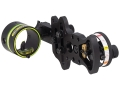 "HHA Sports Optimizer Lite Ultra DS-5010 1-Pin Bow Sight .010"" Pin Diameter Right Hand Aluminum Black"