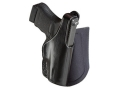 Bianchi 150 Negotiator Ankle Holster Left Hand Glock 26, 27 Leather Black