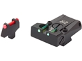 LPA TTF Adjustable Sight Set Colt Series 80 Steel Fiber Optic