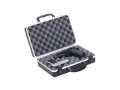"Plano Gun Guard DLX Two Pistol Case 13-3/4"" x 8-1/2"" x 3-7/8"" Polymer Black"
