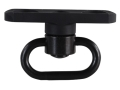 Midwest Industries Low Profile Sling Mount Adapter with Quick Detach Sling Swivel for SS-Series Handguards Aluminum Matte