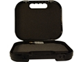 "Glock Locking Security Pistol Case 10-1/2"" x 9"" x 2-1/2"" Polymer Black"