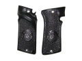 Vintage Gun Grips Star Olympic Polymer Black