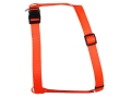 "Remington Adjustable Dog Harness 1"" x 22-38"" Nylon Blaze Orange"