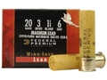 Federal Premium Wing-Shok Ammunition 20 Gauge 3&quot; 1-1/4 oz Buffered #6 Copper Plated Shot Box of 25