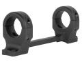 DNZ Products Game Reaper 1-Piece Scope Base with 1&quot; Integral Rings Browning X-Bolt Long Action Matte High