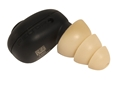 Peltor Tactical Ear Plug Rechargable Electronic Ear Plugs with Charging Case (NRR 23 dB)