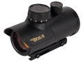BSA Red Dot Sight 30mm Tube 1x 5 MOA Dot with Integral Weaver-Style Mount Matte