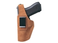 Bianchi 6D ATB Inside the Waistband Holster Left Hand Glock 26, 27, 33, Sig Sauer P239 Suede Tan