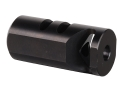 Tactical Solutions Performance Muzzle Brake 1/2&quot;-28 Thread for 2211 Rimfire Conversions Steel Matte