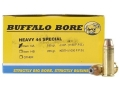 Product detail of Buffalo Bore Ammunition 44 Special 180 Grain Jacketed Hollow Point
