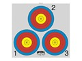 Morrell Paper Archery Target 3 Spot Pack of 100
