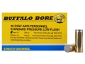 Buffalo Bore Ammunition 45 Colt (Long Colt) 225 Grain Hard Cast Wadcutter Anti-Personnel Box of 20