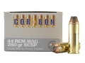 Cor-Bon Hunter Ammunition 44 Remington Magnum 280 Grain Bonded Core Soft Point Box of 20