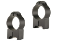 Warne 30mm Maxima Permanent-Attachable Weaver-Style Rings Matte High