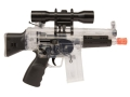 Crosman Airsoft Pulse M74DP 6mm Airsoft Rifle Spring/Electric Select Fire Polymer Stock Black and Clear