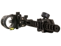 T.R.U. Ball Axcel ArmourTech Pro 5-Pin Bow Sight .019&quot; Pin Diameter Aluminum Black
