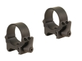 Leupold 30mm QRW Quick-Release Weaver-Style Rings Matte Low