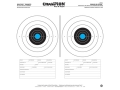 "Champion Re-Stick 50 Ft Pistol Slowfire Self-Adhesive Targets 16"" x 16"" Paper Pack of 25"