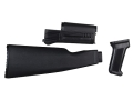 Arsenal, Inc. Complete Buttstock and Handguard Set NATO Length AK-47 Milled Receivers Polymer Black