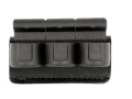 Safariland 333 Competition Speedloader Holder Ruger Security Six, Service Six, Speed Six, S&W K-Frame, Taurus 66, 669, 689 Laminate Black