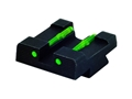 HIVIZ Rear Sight Sig Sauer P220, P225, P226, P228, P229, P239 Steel Fiber Optic