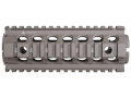 "Troy Industries 7"" MRF CAR/M4 Drop-In Battle Rail 2-Piece Quad Rail Handguard Carbine Length AR-15"