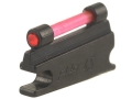 "Product detail of NECG Universal Front Ramp Interchangeable Front Sight .177"" Height .099"" Fiber Optic Red"