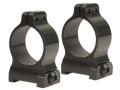Talley 1&quot; Ring Mounts CZ 550 Matte Medium